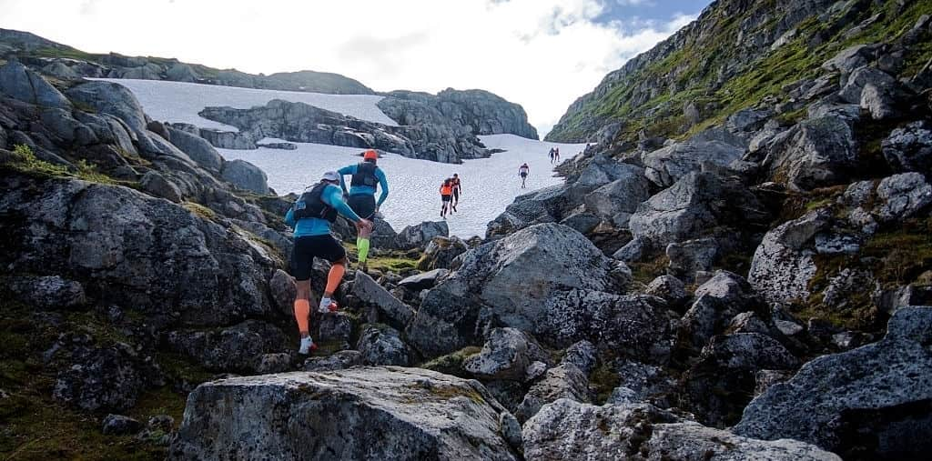 chaleco trail running hombre